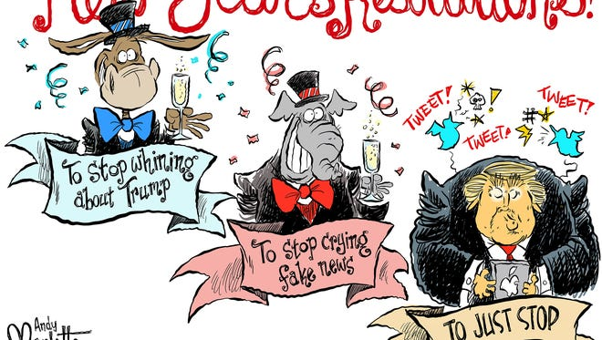 New Year's resolutions commentary from Andy Marlette
