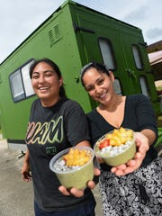 Z's Green Canteen co-owners Nikki Roberto, left, and