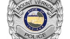 Logo of the Mount Vernon Police Department in Mount Vernon, Posey County, Indiana.