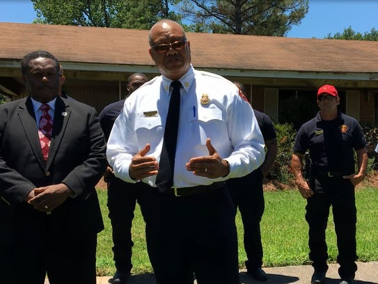 Chief Terry Williams encouraged Monroe residents to