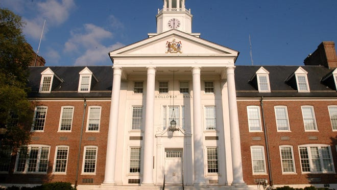 Holloway Hall is the landmark building of the Salisbury University campus.