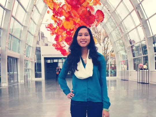 Angela Navarro, 23, a Google software engineer, helped
