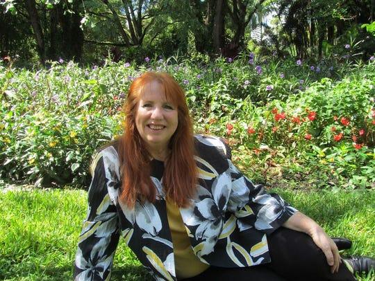 Gardening guru Teresa Watkins, owner of SHE(Sustainable