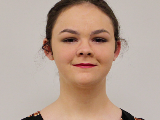 Juliette Trumbull, 13, is one of the finalists for
