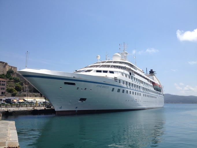 Christened at a ceremony in Nice, France on May 6,