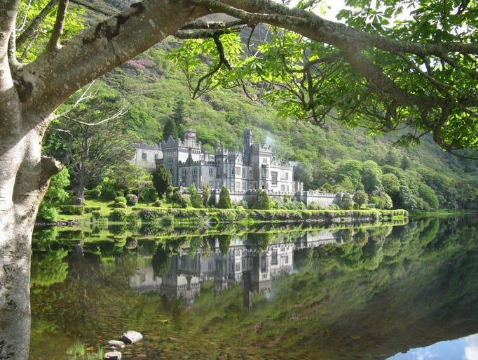 Beautiful Kylemore Abbey and mansion ... a major Irish