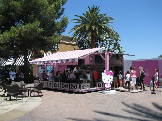 Hello Kitty Cafe has set up shop for its year-long