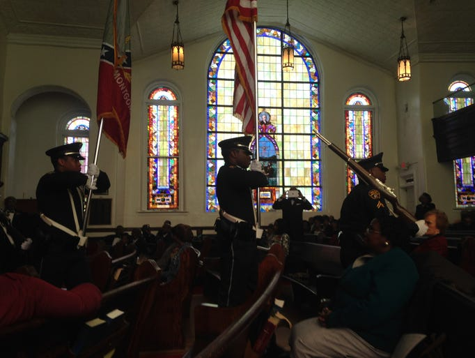 The 150th anniversary service of Montgomery's First