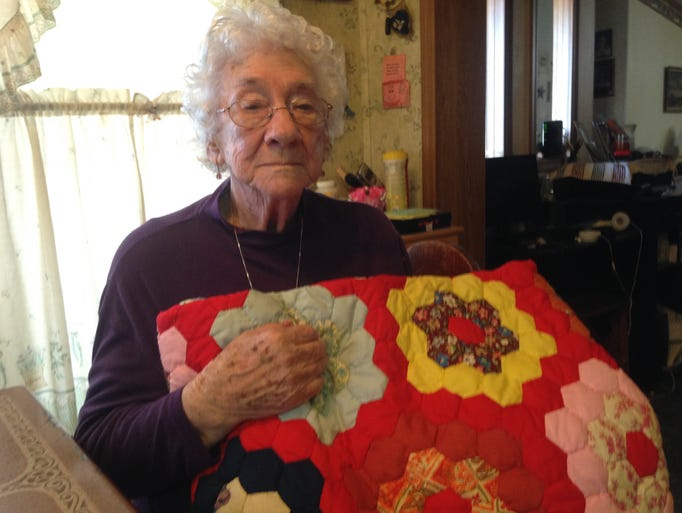 Dolcie Godwin, who celebrated her 100th birthday on
