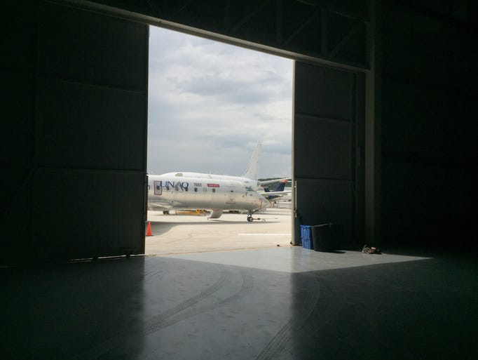 UAQ has also hangars and open space environments. The
