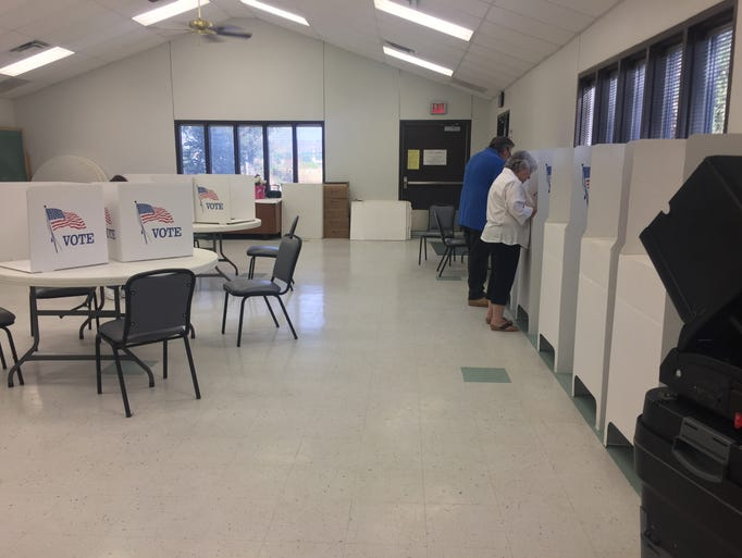 Carlsbad residents voted Tuesday morning for the 2018