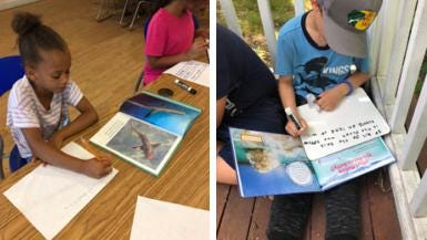 Students in the Dr. Martin Luther King Jr. Community Center and the Boys & Girls Clubs of Newport County summer programs returned to in-person instruction.