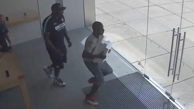 Help Evesham Police find these two men
