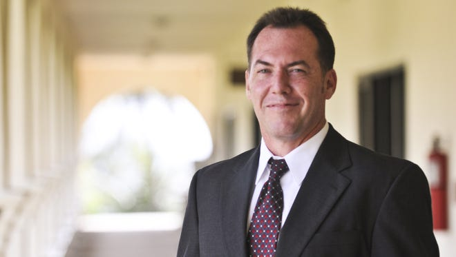James L. Canto II is photographed at Adelup in July 2011. Canto resigned from his position as a Superior Court of Guam July 2016.