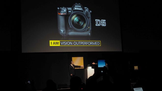 Nikon's new D5 is the first pro-grade DSLR to shoot 4K video.