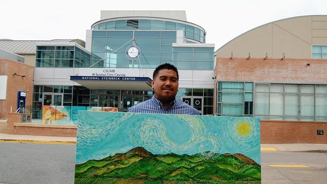 """Andre Kalani Fernandez's upcoming art exhibition is called """"I am from the Salad Bowl."""