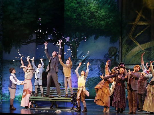 """Finding Neverland"" plays through Saturday at the Fox Cities Performing Arts Center in Appleton."