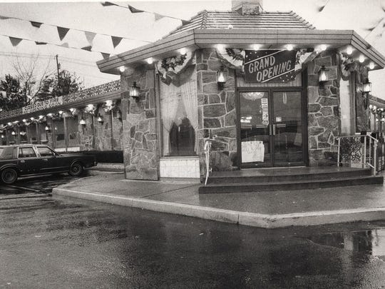 The Forum Diner re-opened in December 1986 after a fire that October.