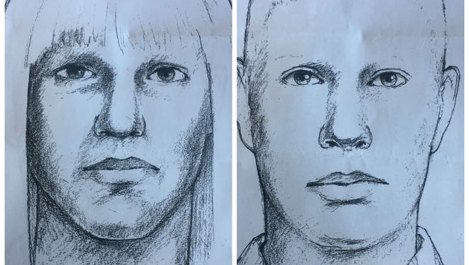 The Sheriff's Office released two sketches of a suspect in the October death of David Fluke.