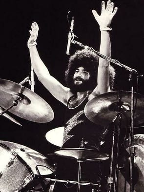March 22, 2017: Sib Hashian, a former drummer for the