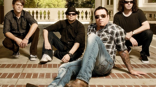 Smash Mouth will perform for a free concert Thursday in downtown West Palm Beach.