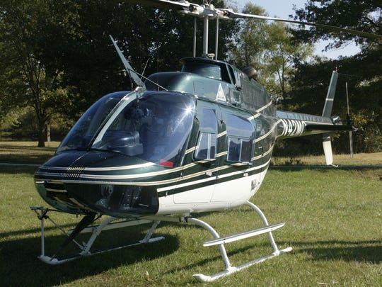 A Missouri Department of Conservation helicopter like this might be used in next week's aerial shooting of feral hogs at Ozark National Scenic Riverways Park.