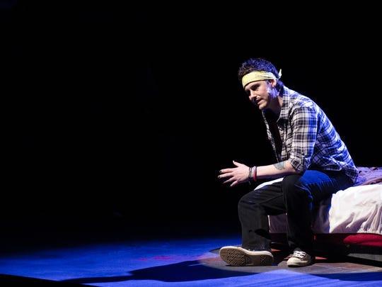 Nicholas John Gearing stars as Jimmy in Stray Cat Theatre's