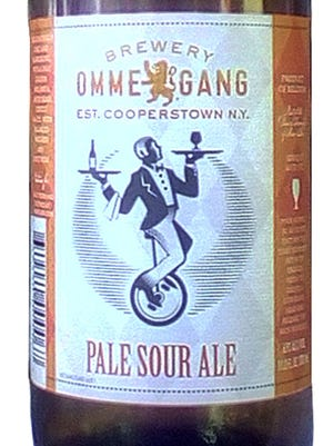 Ommegang Pale Sour Ale, from Brewery Ommegang in Cooperstown, N.Y., is 6.9% ABV.