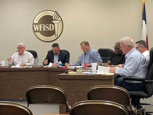 WFISD Board of Trustees Nov. 14 special session