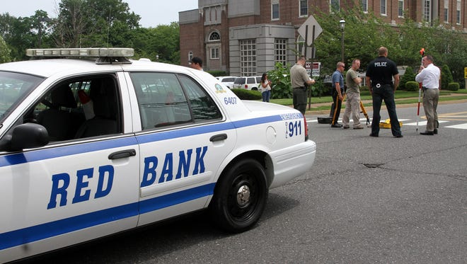 A house party was cut short when one man pulled out a knife attacked two others in the early hours of Friday morning, Red Bank police said.