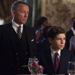 "Bruce Wayne (David Mazouz, right) and Alfred (Sean Pertwee) attend an event in the ""Viper"" episode of 'Gotham' airing Monday, Oct. 20 (8 p.m. ET/PT)."