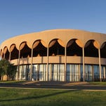 ASU Gammage is the last public commission of architect Frank Lloyd Wright.
