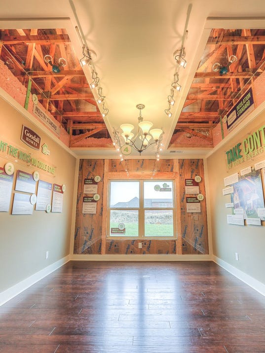 Home builders go green with energy efficient for Energy efficient house features