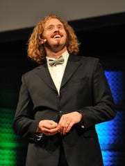 T.J. Miller hosted the 8th annual Crunchies Awards in February. The Crunchies are a celebration of the top achievements in technology, internet and startups.