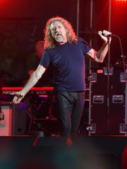 Musician Robert Plant & The Sensational Space Shifters perform on stage at Which Stage during Day 4 of the 2015 Bonnaroo Music And Arts Festival on June 14, 2015 in Manchester, Tennessee.