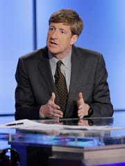 Former Rep. Patrick Kennedy, D-R.I., has met with drug company executives with Gov. Chris Christie, R-N.J.