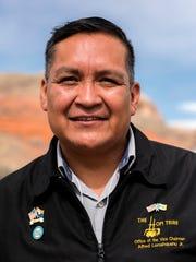 Hopi Chairman candidate Alfred Lomahquahu Jr.