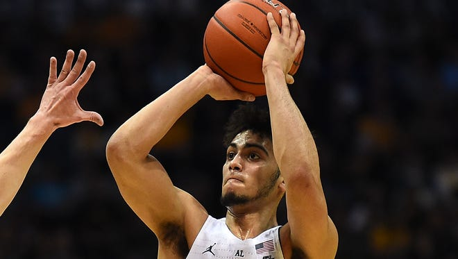 Marquette sophomore Markus Howard holds the school record with 11 three-pointers made against Chicago State.