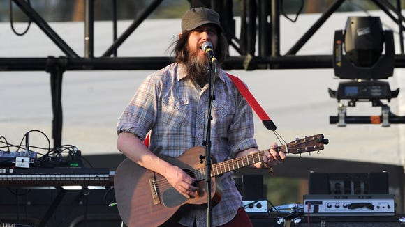 Jeff Mangum of Neutral Milk Hotel performs at the Coachella Valley Music & Arts Festival at the Empire Polo Club on April 20, 2014 in Indio, California.