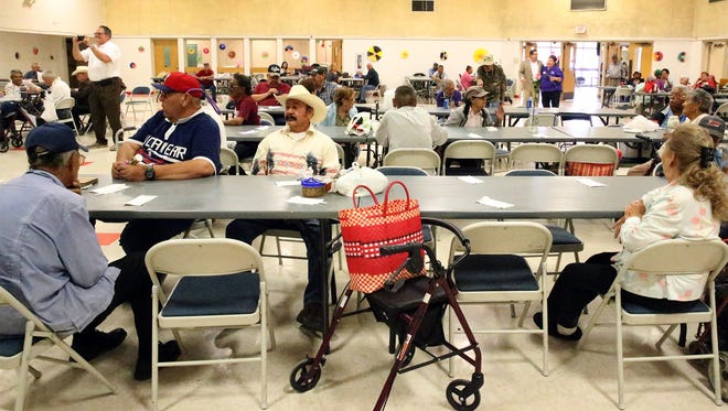 The city has 11 senior centers operated by the El Parks and Recreation Department. The Eastside Senior Center will be closed for a year due to renovation.