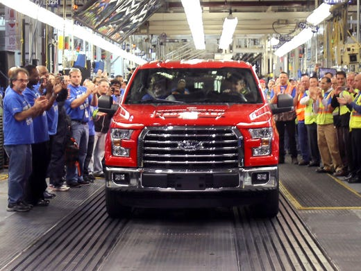The First  Ford F  Truck With The Aluminum Bed