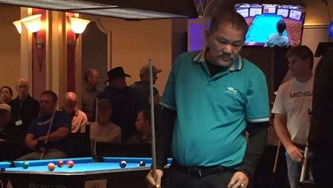 Efren Reyes has won the Derby City Classic billiiard tournament multiple times.