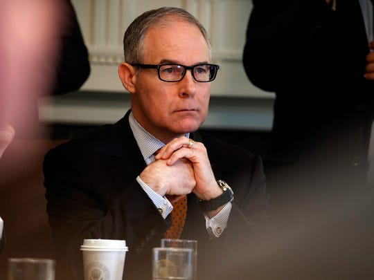 Environmental Protection Agency administrator Scott