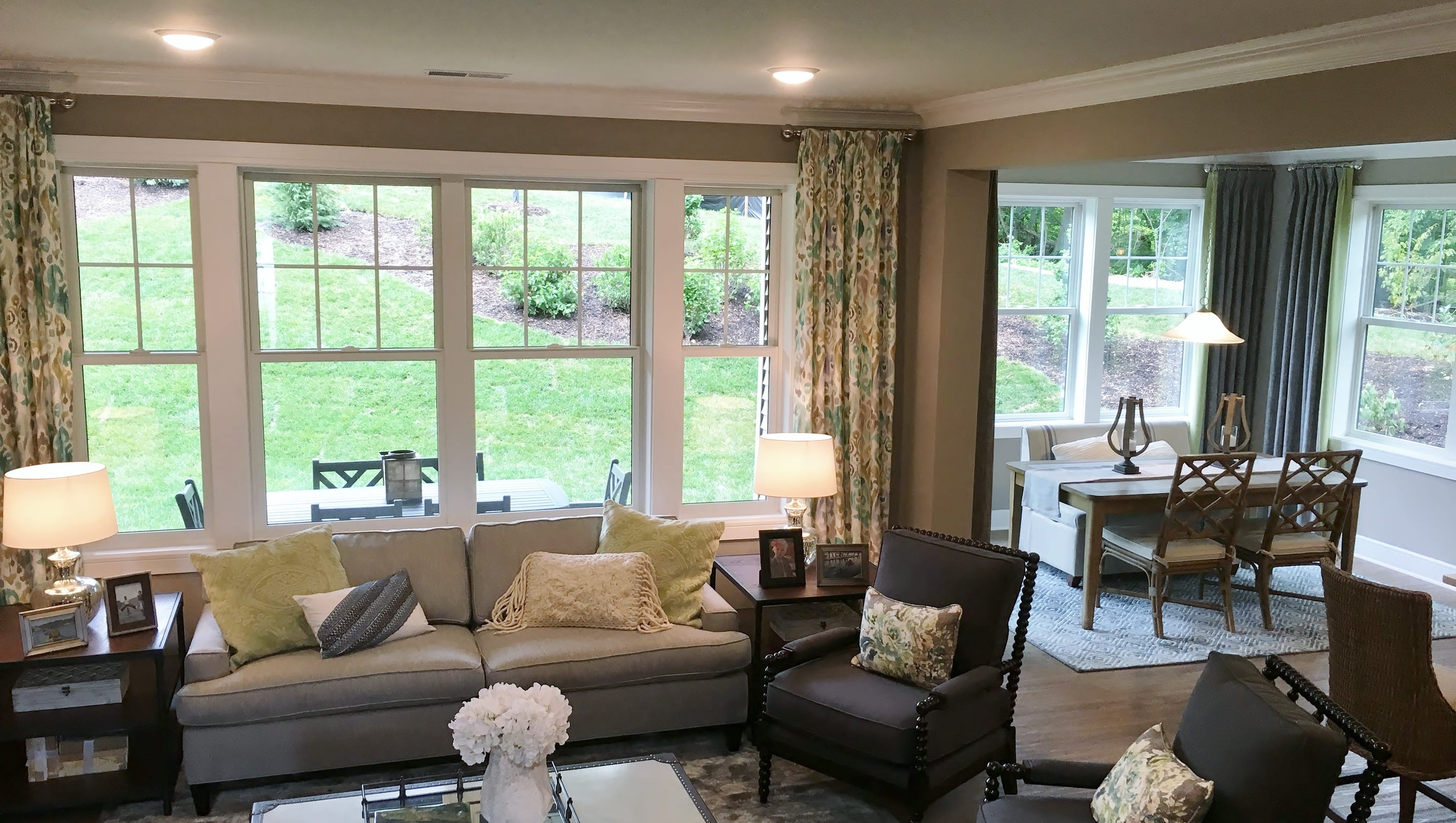 Buyers appreciate opening of furnished model at Mariners Pointe