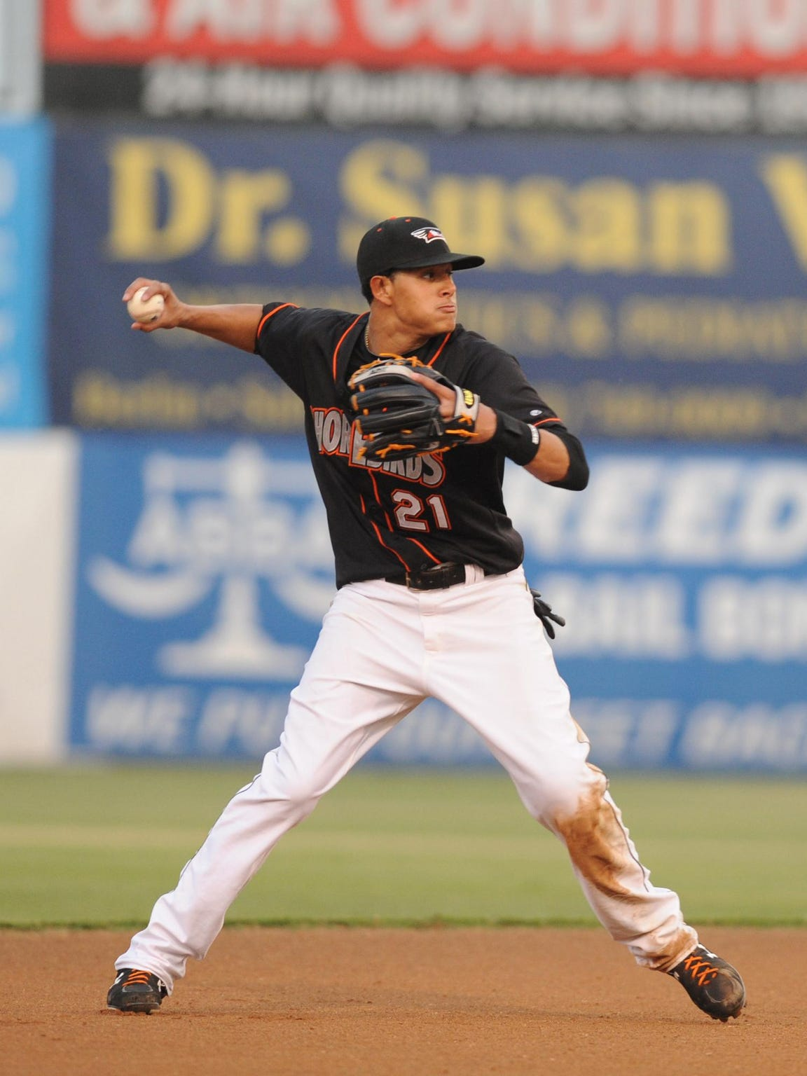 In 38 games for the Shorebirds in 2011, Manny Machado