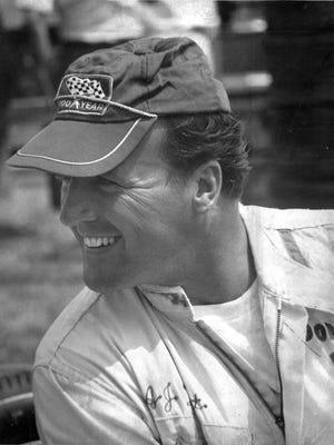 A.J. Foyt race car driver. 1967.