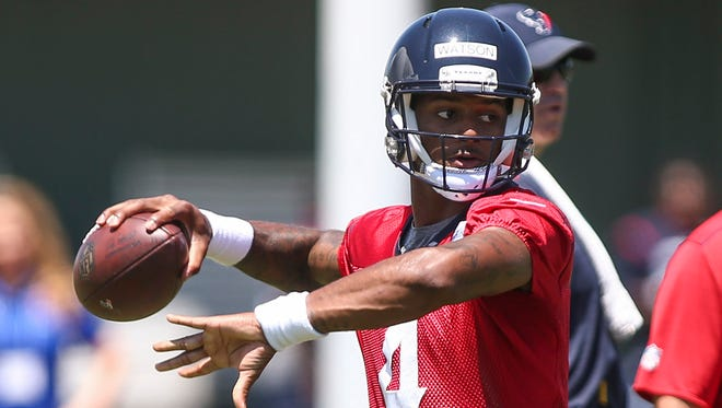 Deshaun Watson is only the second quarterback taken in the first round in Texans history.