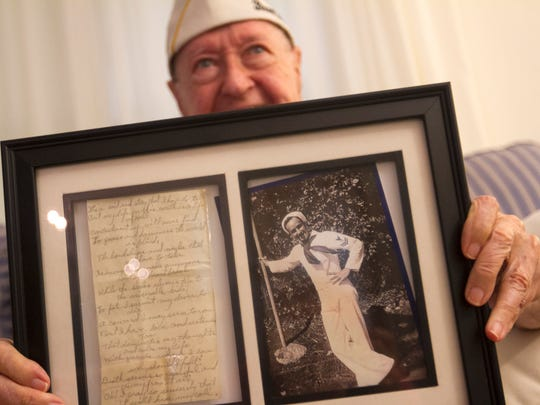 As a young sailor, Pearl Harbor survivor John Gideon used to write songs to pass the time.