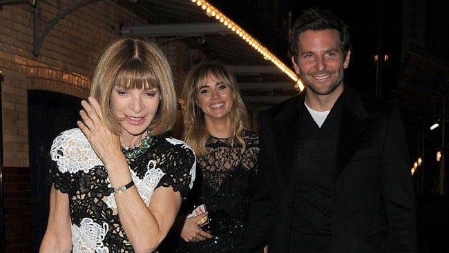 Bradley and Suki with Anna Wintour