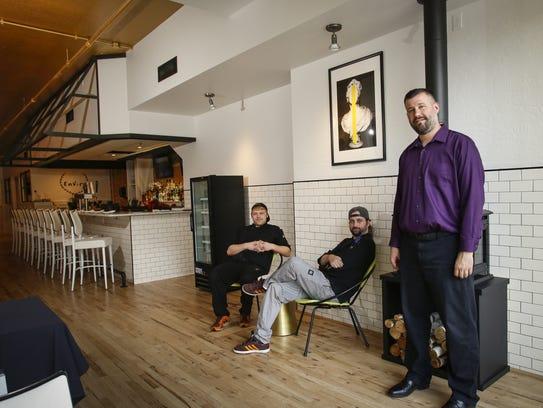EnVie Sous Chef Alex Hall, left, Chef/Owner James Cheskaty,